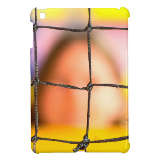 Fischer net with woman in the background iPad mini cases