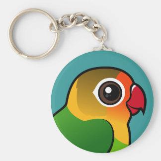 Fischer's Lovebird Key Ring
