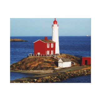 Fisgard Lighthouse Canvas Prints