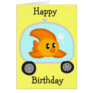 Fish 2.0 Birthday Card