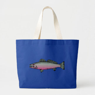 Fish 2 large tote bag
