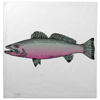 Fish 2 napkin