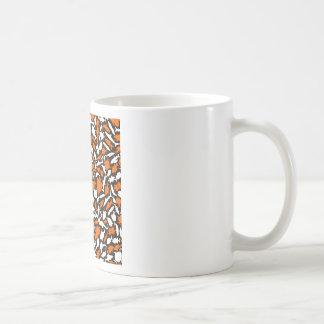 Fish a background coffee mug