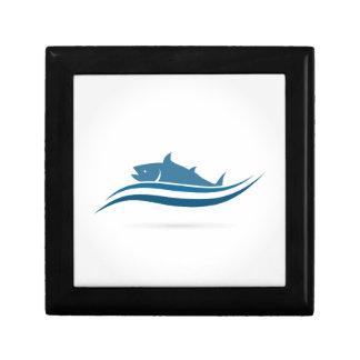 Fish an icon2 gift box