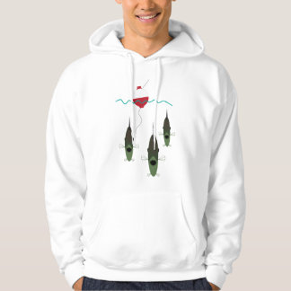 fish and bobber hoodie