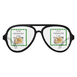 fish and chips aviator sunglasses