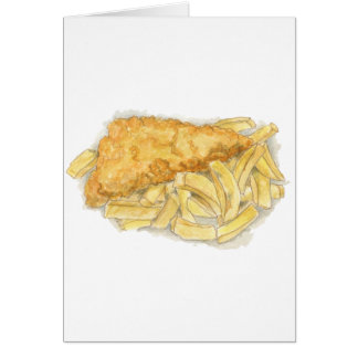 fish and chips card