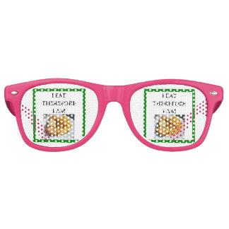 fish and chips retro sunglasses