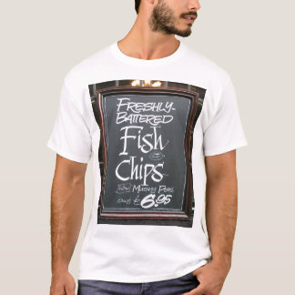 Fish and chips sign T-Shirt