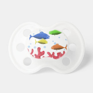 Fish and corals pacifier