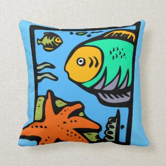 Fish and Star Fish Pillow Throw Cushions