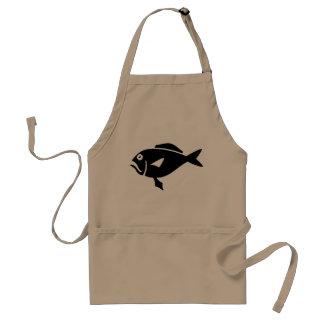 Fish aprons for men   beige