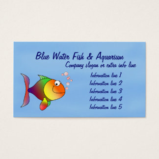 Fish Aquarium Business Card
