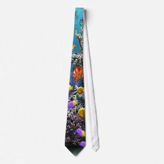 Fish Aquarium Tie