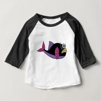 fish baby cute happy baby T-Shirt