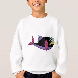 fish baby cute happy sweatshirt