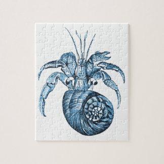 Fish beach ocean coastal nautical sea blue gifts jigsaw puzzle