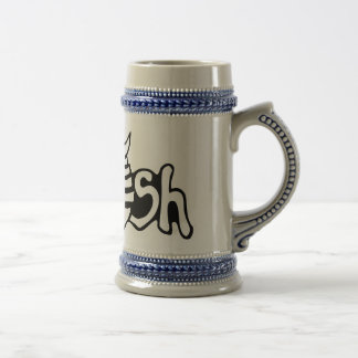 Fish beers beer stein