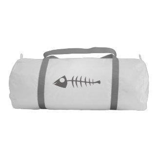Fish Bone Gym Bag Gym Duffel Bag