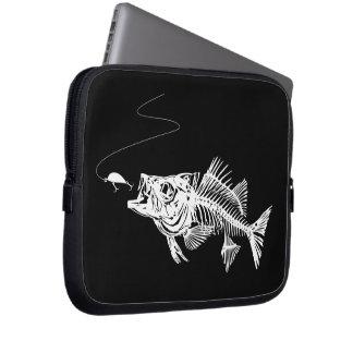 Fish Bone Laptop Sleeve
