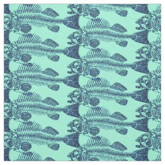 Fish Bones Fabric