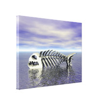 Fish Bones Gallery Wrapped Canvas