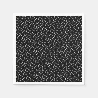 Fish bones pattern disposable napkin