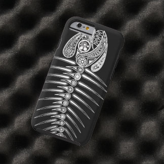 Fish Bones Skeleton Tough iPhone 6 Case