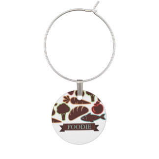 Fish bread fruit vegetable food chef catering wine glass charms