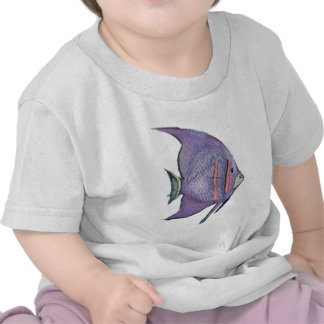 FISH BUBBLE by SHARON SHARPE Shirts