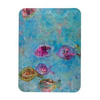 Fish & Bubbles Magnet