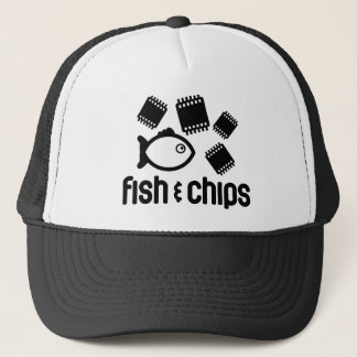 Fish & Chips Trucker Hat