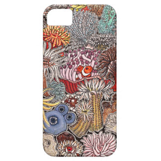 Fish clown and anemones barely there iPhone 5 case