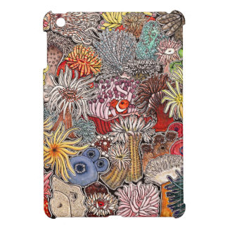 Fish clown and anemones cover for the iPad mini