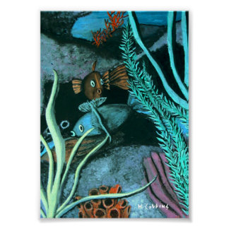 Fish Coral Reef Poster