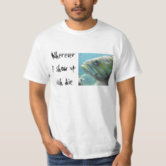 Fish Die T-Shirt