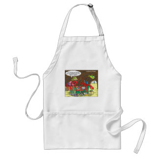 Fish Divorce Funny Cartoon Gifts Tees Collectibles Standard Apron