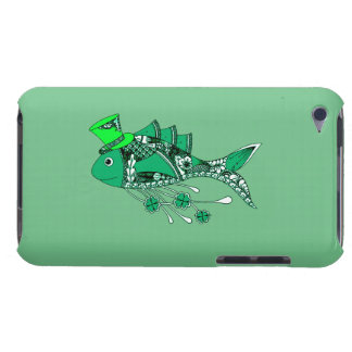 Fish Dressed for St Patrick's Day Barely There iPod Cover
