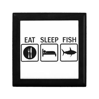 fish eat sleep gift box