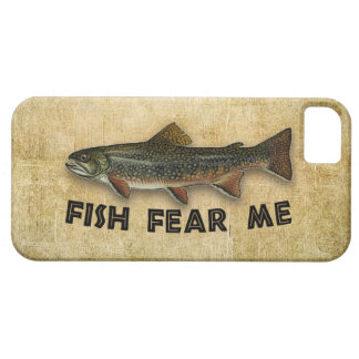 Fish Fear Me Funny Fishing iPhone 5 Case