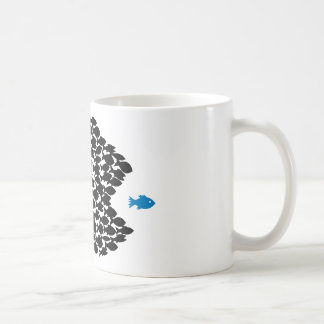 fish fish swarm fishing school coffee mugs