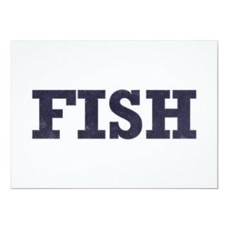 """""""Fish"""" fishing fan design Card"""