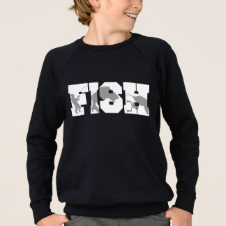Fish Fishing Sweatshirt