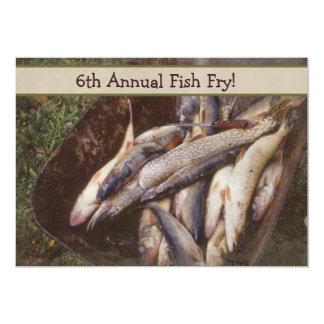Fish Fry Invitations
