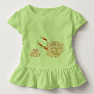 Fish gudgeon flame toddler T-Shirt