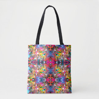 Fish Hexagons Tote Bag