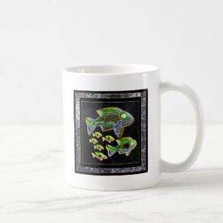FISH Illuminated graphic artistic design pets Coffee Mug