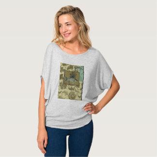 """Fish illustration"" Women's Flowy Tee Shirt"