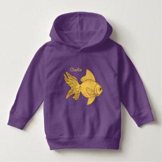Fish Illustrations custom name clothing Hoodie