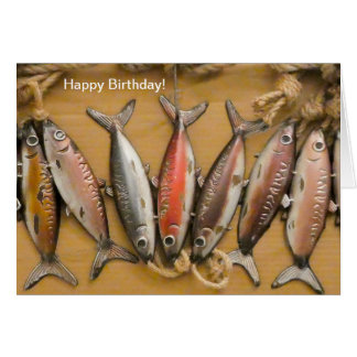 Fish image for Birthday Greeting card